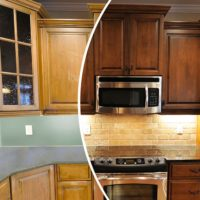 N-Hance kitchen color change