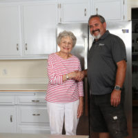 N-Hance refinished kitchen winner