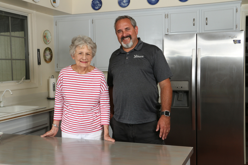 N-Hance refinished kitchen winner of prize- N-Hance franchise opportunities